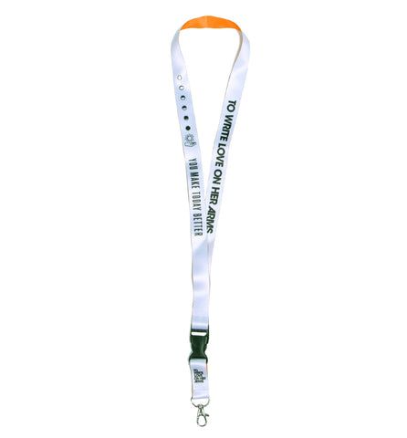 You Make Today Better Lanyard