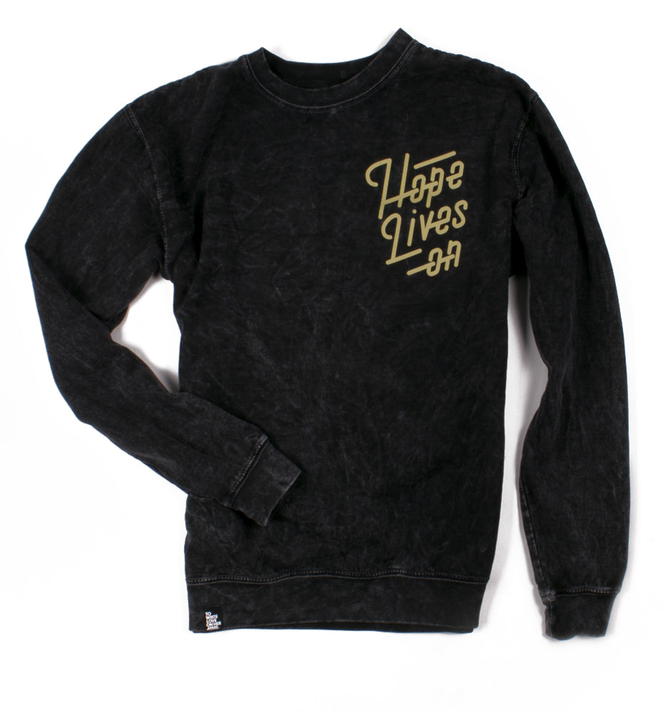 Hope Lives On Mineral Wash Sweatshirt