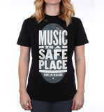 Music Is A Safe Place Shirt