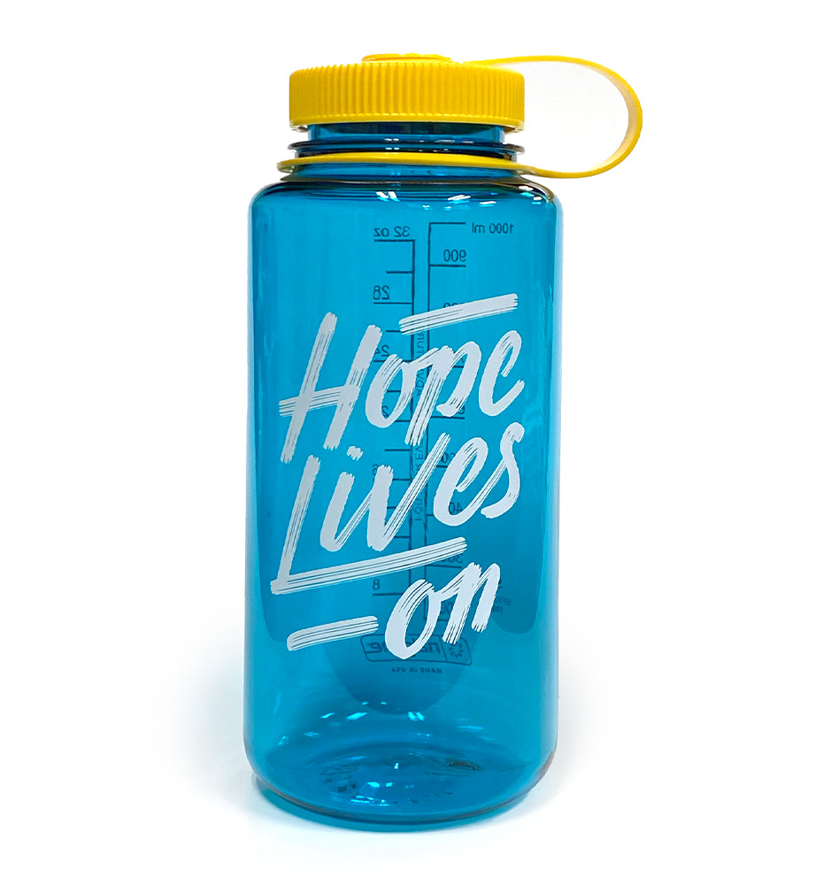 Hope Lives On Nalgene Bottle (32oz)