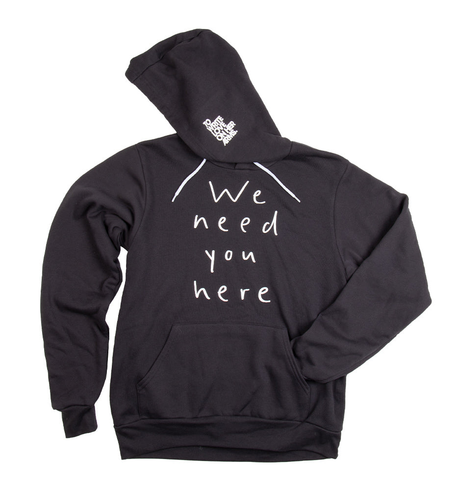 Need You Here Pullover Hoodie