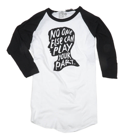 No One Else Baseball Tee