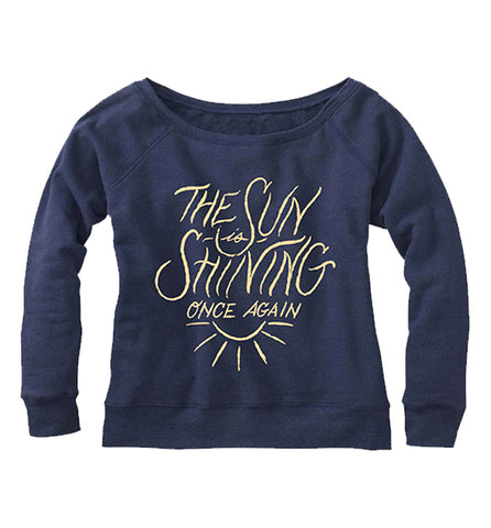 Sunshine Wide Neck Sweatshirt