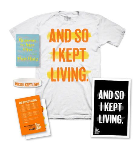WSPD Shirt Pack + Reasons To Stay Alive