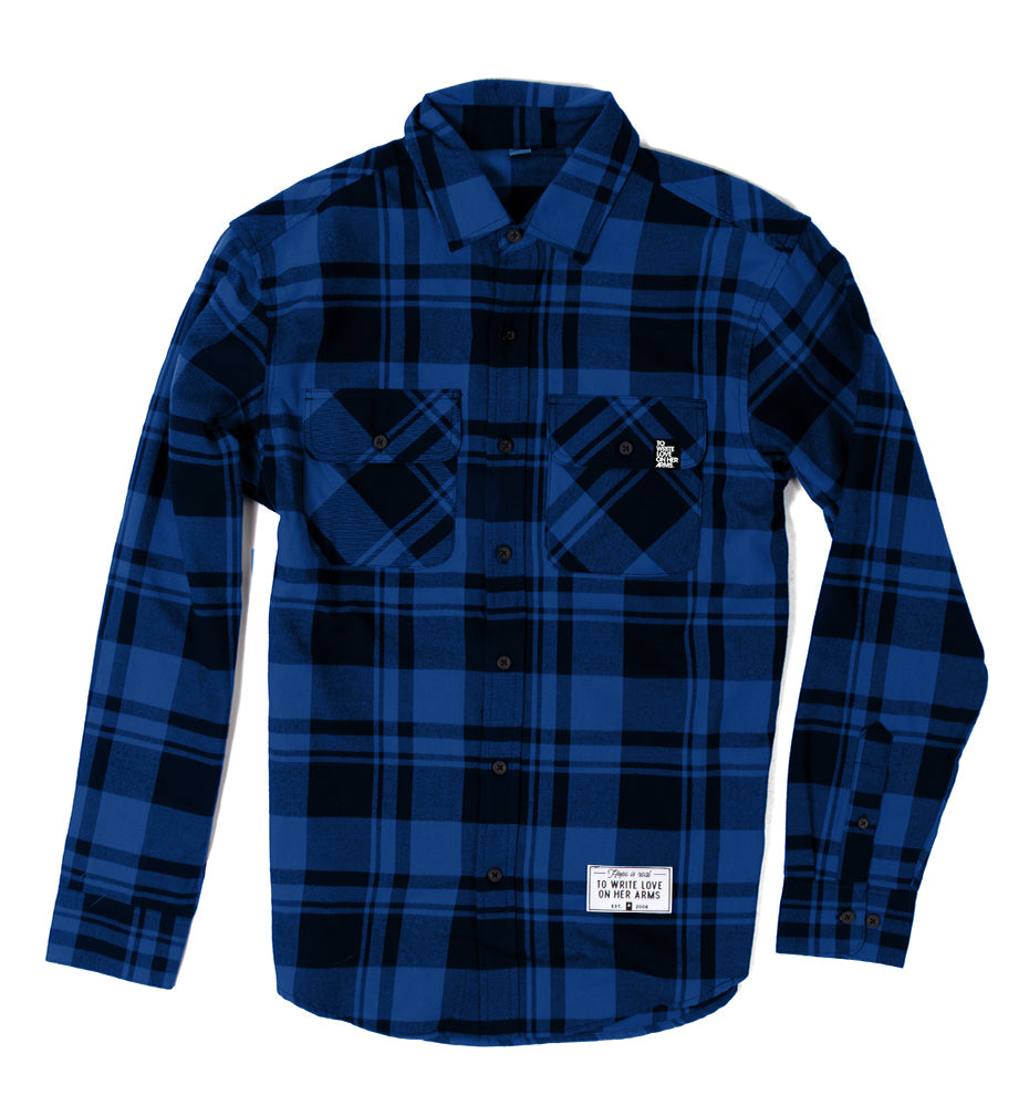 Wolf Flannel Shirt