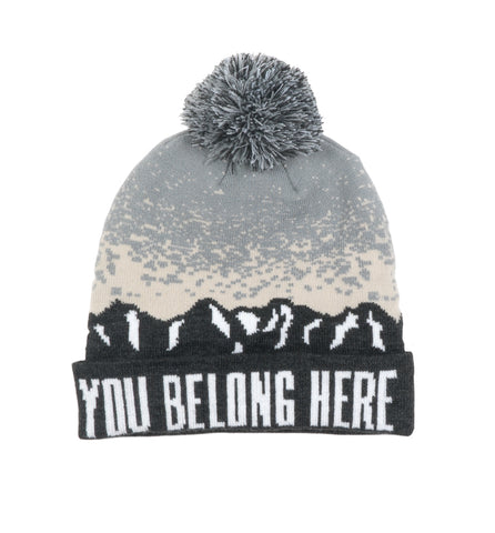 You Belong Here Pom Beanie