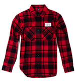 Rose Flannel Shirt