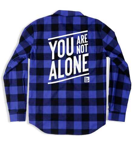 Not Alone Flannel Shirt