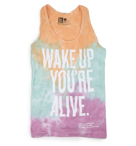 Wake Up Tie-Dye Tank