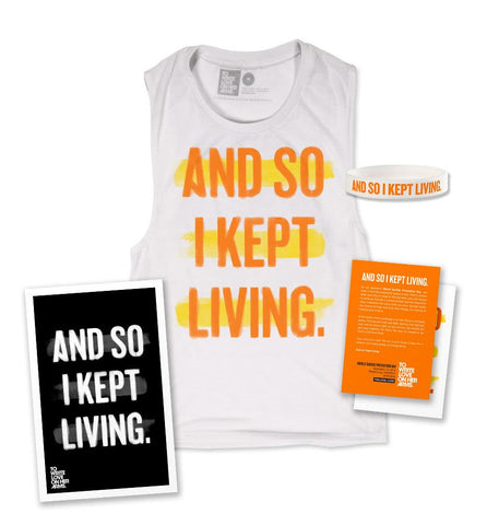 World Suicide Prevention Day 2016 Sleeveless Pack