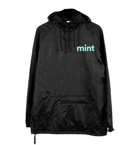 Spotify Exclusive mint Rain Jacket