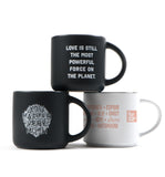 Three Coffee Mugs Bundle