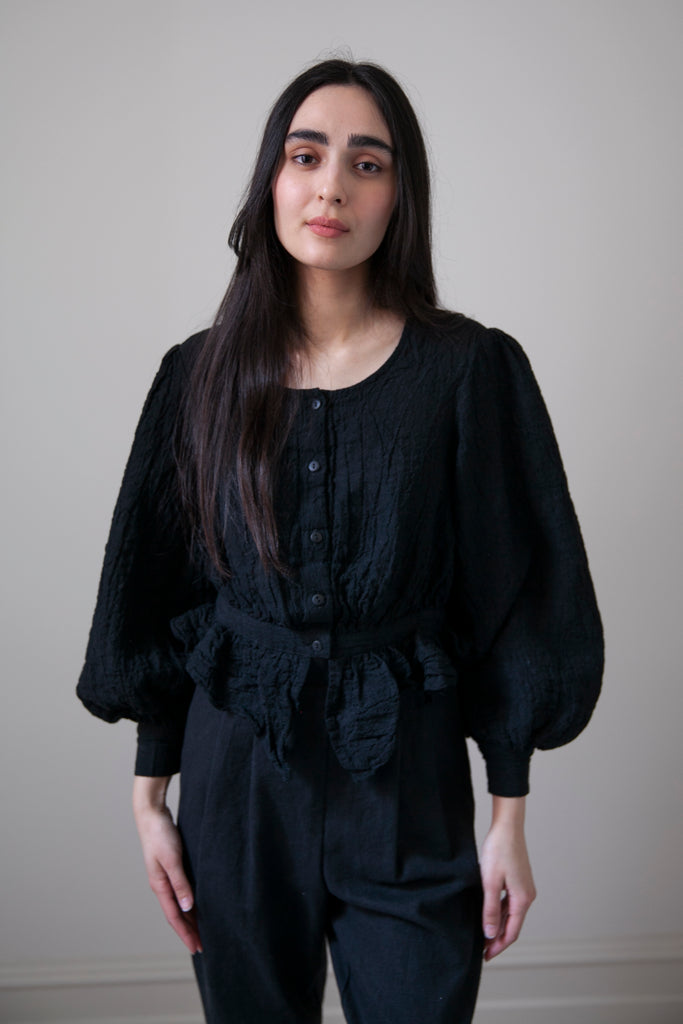 Celeste Blouse - Black