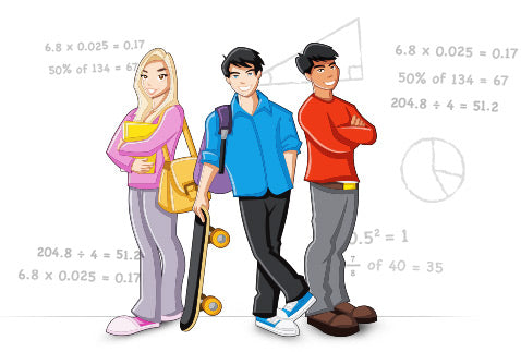 Help with mathematics for secondary school children