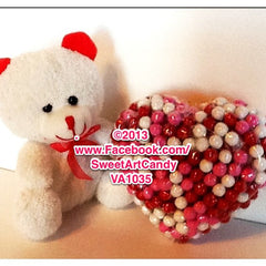 VA1035 SIXLETS HEART AND MINI BEAR