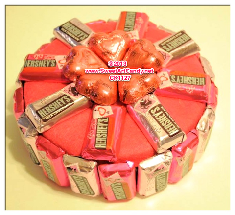 CK1127 Chocolate Heart Cake