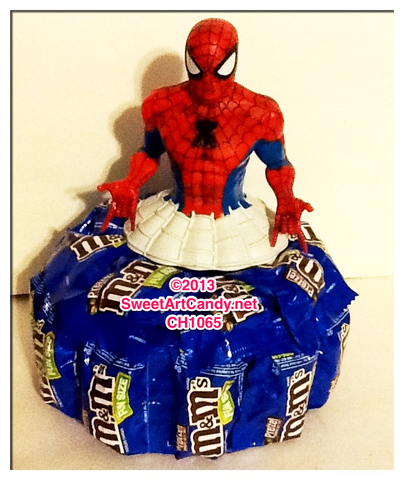 M&M's Spiderman Cake CH1065