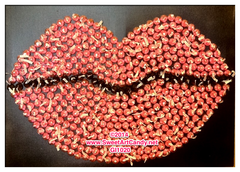 GI1020 Lips for Chocolate Kisses