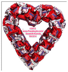 VA1014 SNICKERS CHOCOLATE HEART