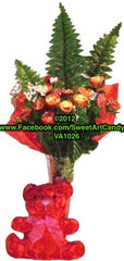 VA1026 REESES CUPS ROSE BOUQUET