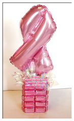 CA1005 PINK RIBBON CHOCOLATE GIFT