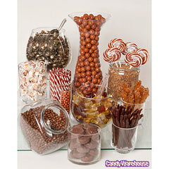 BROWN CANDY BUFFET