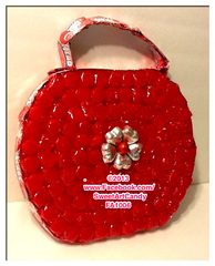 FA1006 RED HOT PURSE