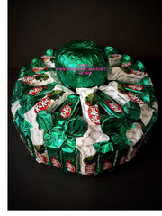 CK3514 GREEN CHOCOLATE KIT KAT CAKE