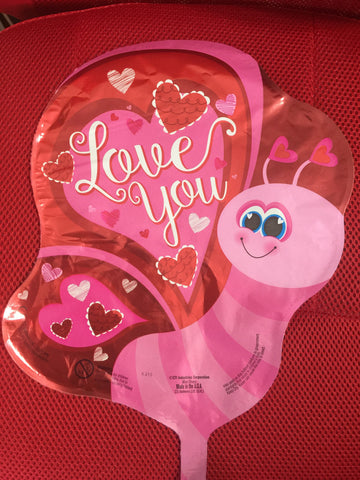 BUTTERFLY LOVE YOU BALLOON