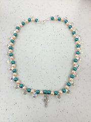 EMERALD PEARLS ANKH