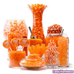 ORANGE CANDY BUFFET