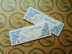 Sew Tilley Gift Voucher