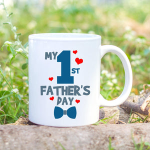 colour first fathers day mug - Sew Tilley