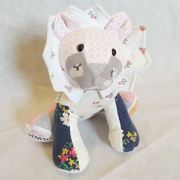 Baby Birth weight keepsake memory animals. - Sew Tilley