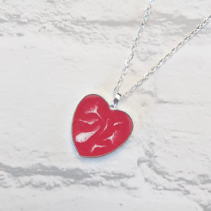 Heart pendant - Sew Tilley