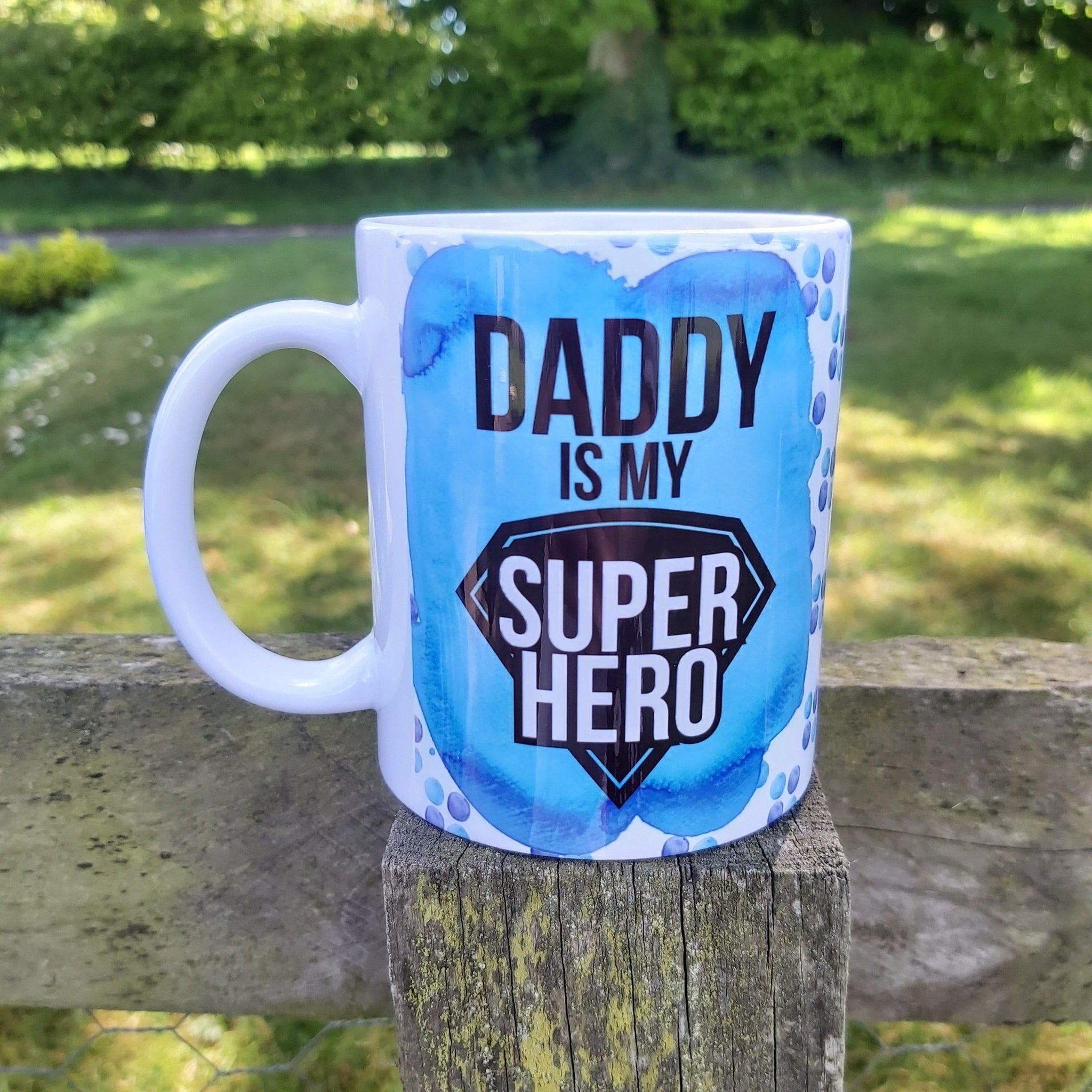 Photo Pattern personailsed dad Mug - Sew Tilley