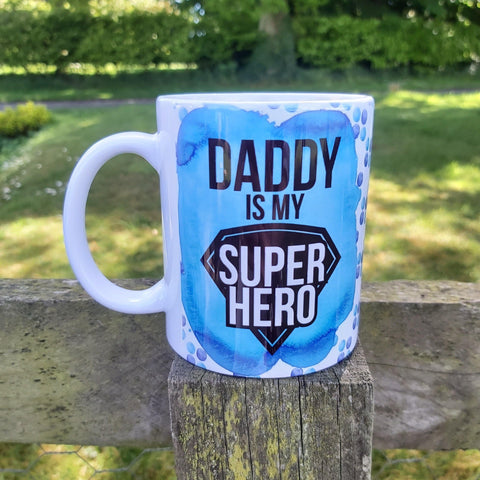 Photo personalised mug by Sew Tilley