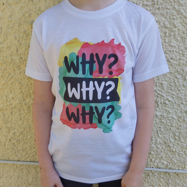 Why why why child's t-shirt - Sew Tilley