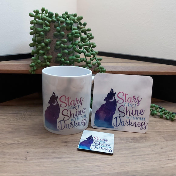 Stars Can't shine coaster - Sew Tilley