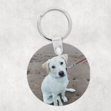 Photo keyring - Round double sided - Sew Tilley