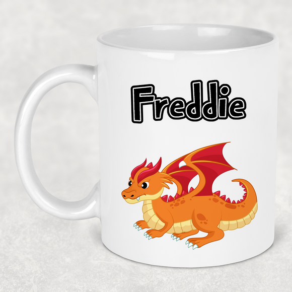 Dragon mug - 4 designs