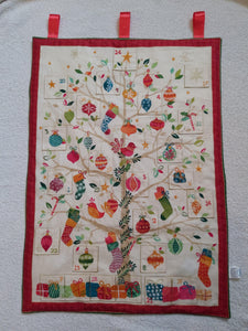 Handmade advent calendar - Sew Tilley