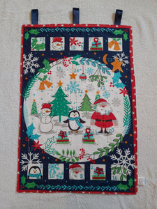 Handmade snowman advent calendar - Sew Tilley