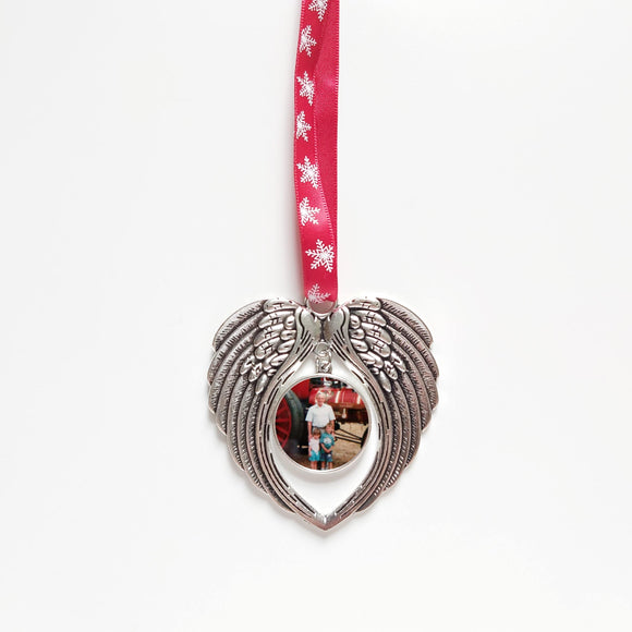 Angel wings - Personalised Christmas Decorations - Sew Tilley