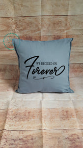 Large Forever cushion - Sew Tilley