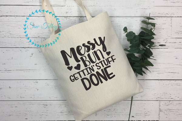 Mum tote bag - Sew Tilley