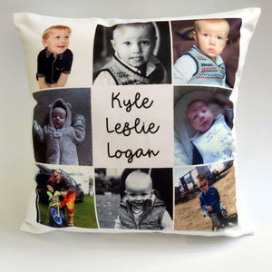 Personalised Photo cushion - Sew Tilley