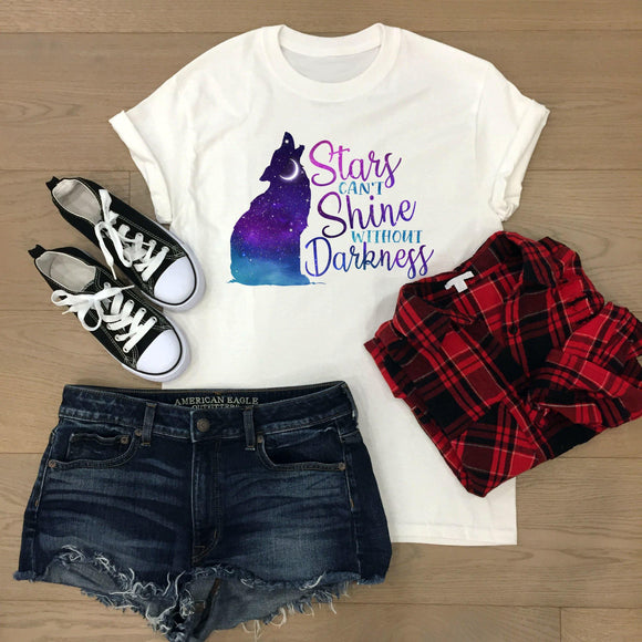Stars Can't Shine women's t-shirt - Sew Tilley