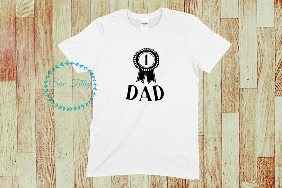 Men's Number one badge t-shirts - Sew Tilley