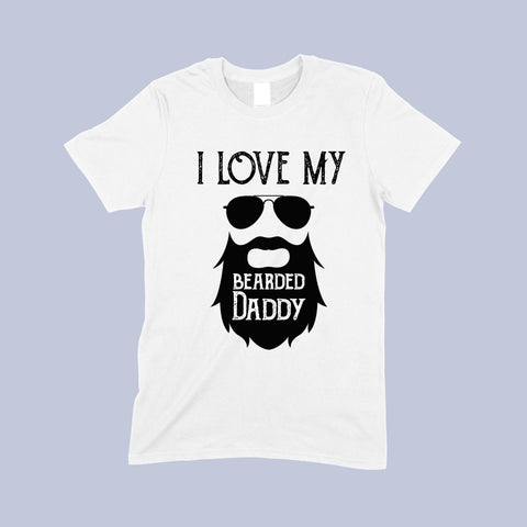 I love my daddy toddler t-shirt by Sew Tilley